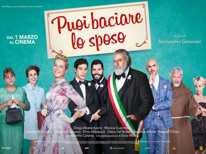 Puoi baciare lo sposo, nuova commedia firmata da Alessandro Genovesi che vede tra i protagonisti Diego Abatantuono e Salvatore Esposito.